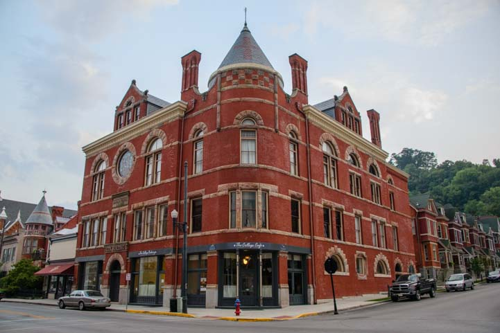 Maysville Kentucky Cox Building and Masonic Lodge