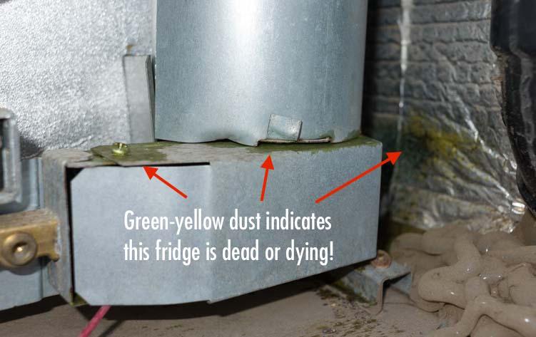 RV warranty repair RV refrigerator installation