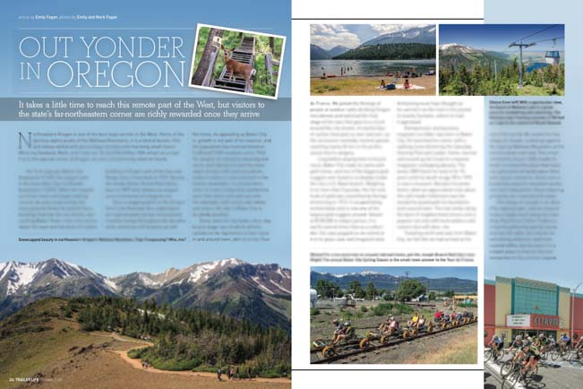 Out Yonder In Oregon Trailer Life October 2015