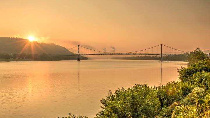 Dawn Simon Kenton Memorial Bridge Maysville Kentucky