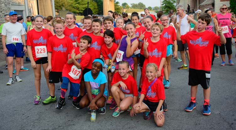 5k running kids Maysville Kentucky