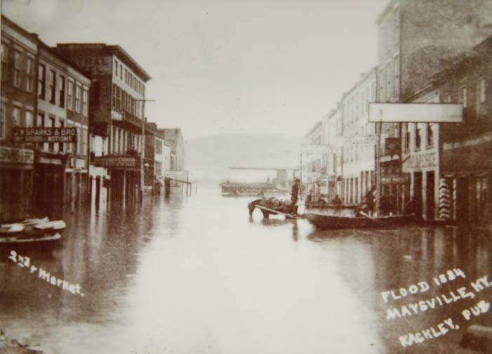 Maysville Kentucky 1884 Flood