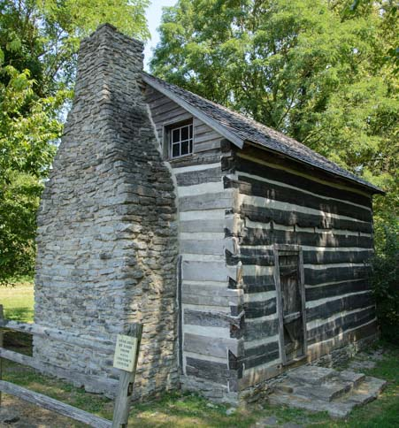Washington Kentucky 1790's Settlement near Maysville_