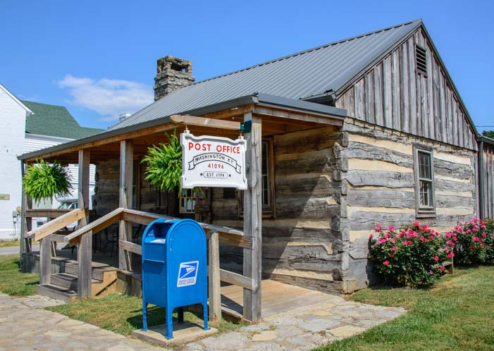 Washington Kentucky Post Office near Maysville