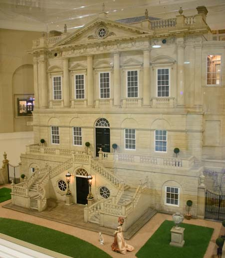 London Spencer House Lady Diana Ancestral Home Miniature Collection Kentucky Gateway Museum Maysville