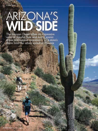 Arizona's Wild Side Motorhome Magazine November 2015