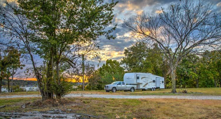 Oklahoma RV camping and travel