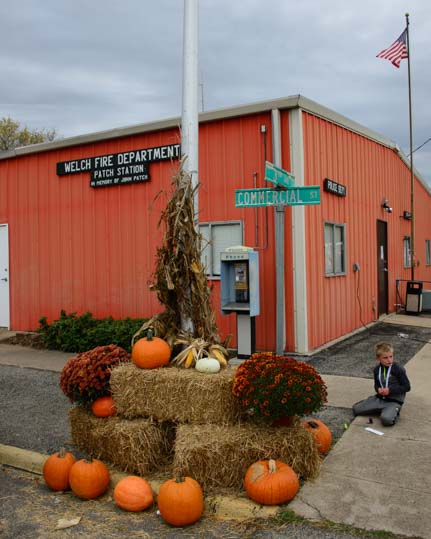 Pumpkins at Welch OK Fall Harvest Days_
