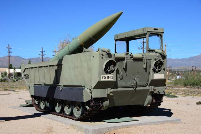 Tank Missile Park White Sands Missile Range Museum