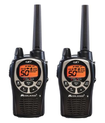 Midland 36 mile GMRS radios