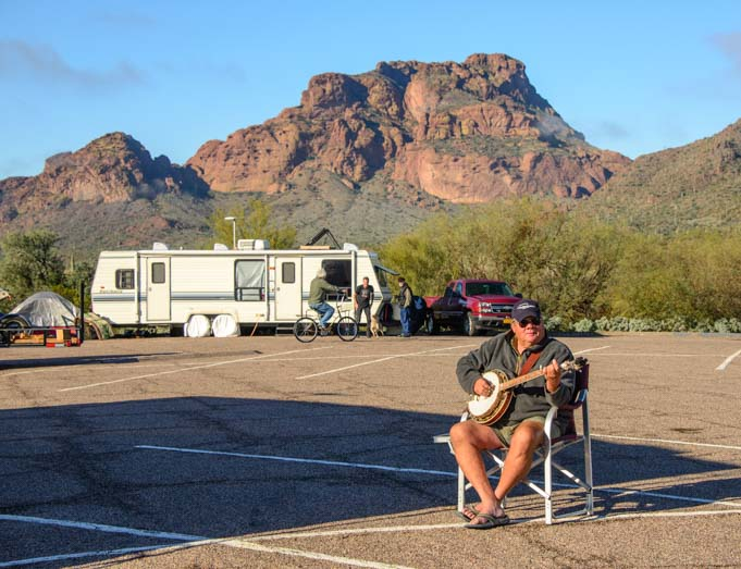 Phon D Sutton Recreation Area RV Camping Tonto National Forest