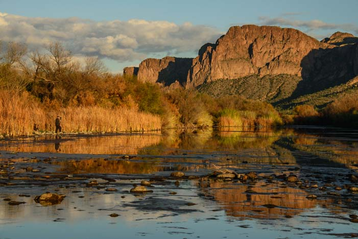 Pebble Beach on the Salt River