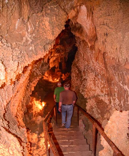 Caverns of Sonora Texas travel adventure