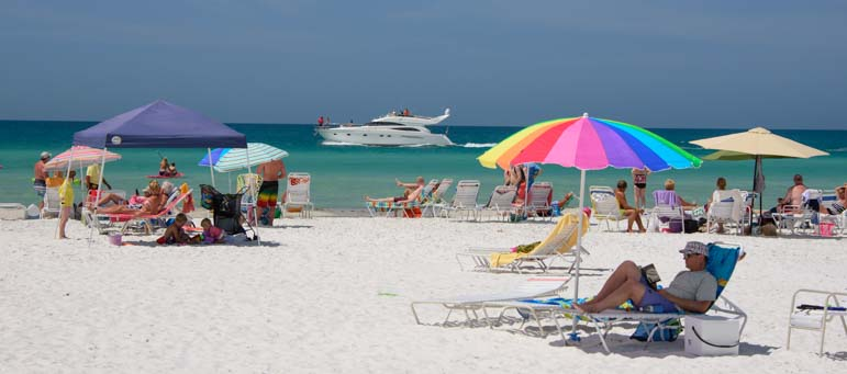 Siesta Beach Sarasota Florida travel