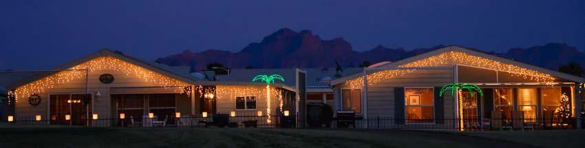 Christmas ViewPoint RV & Golf Resort Superstition Mountains Arizona