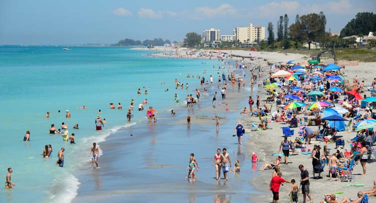 Venice Beach RV travel to Sarasota Florida