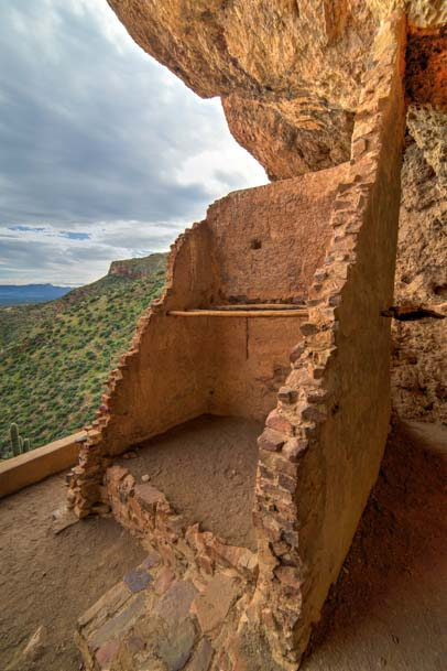 Anclient Cliff Dwellings Tonto National Monument Arizona