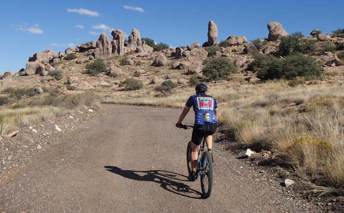 Bicycling City of Rocks New Mexico