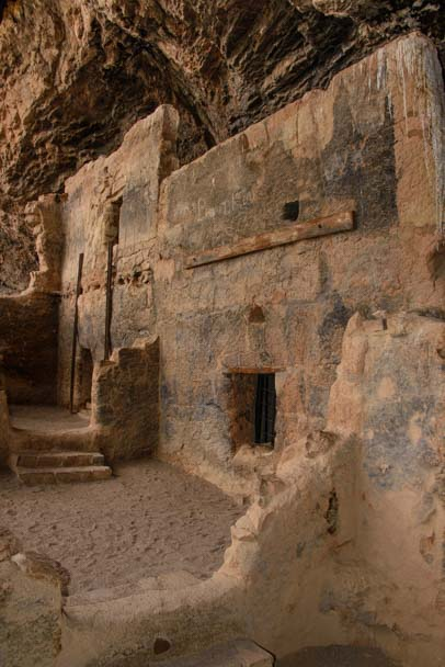 Tonto National Monument Lower Cliff Dwellings Arizona