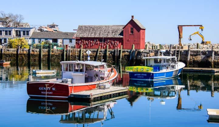 Travel to Rockport Massachusetts