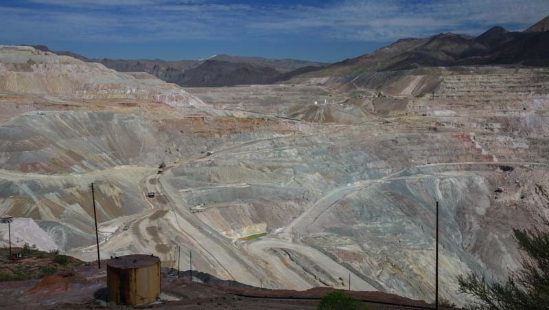 Copper Mine Globe Arizona