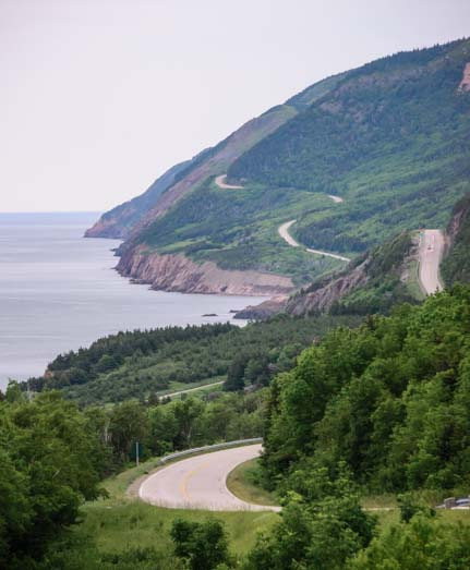 Cape Breton Island Nova Scotia RV adventure