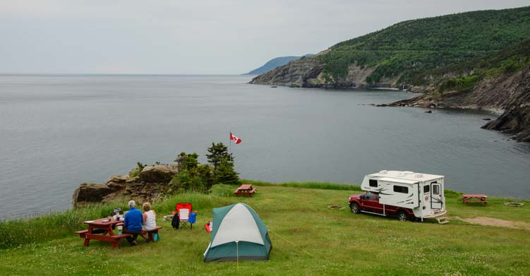 Cape Breton Island Nova Scotia RV boondocking and camping