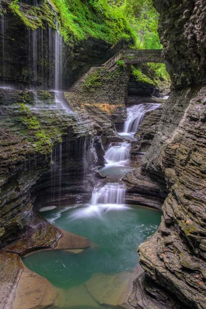 Watkins Glen State Park New York Finger Lakes RV Camping