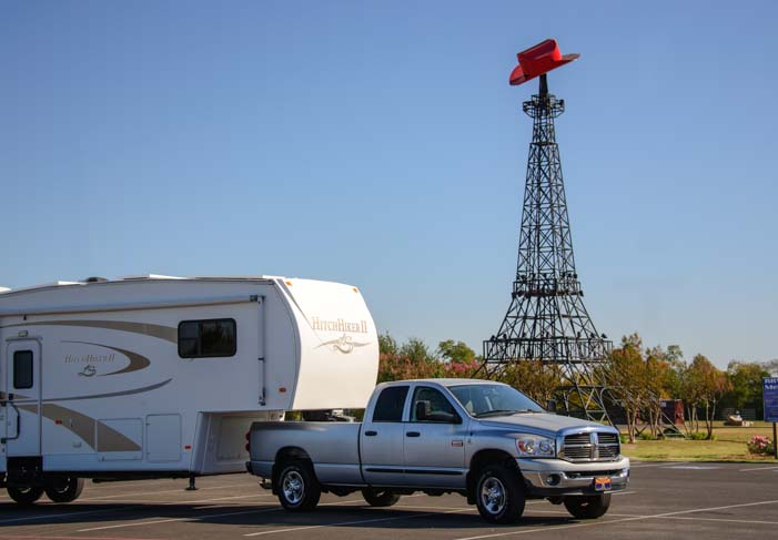 RV in Paris Texas