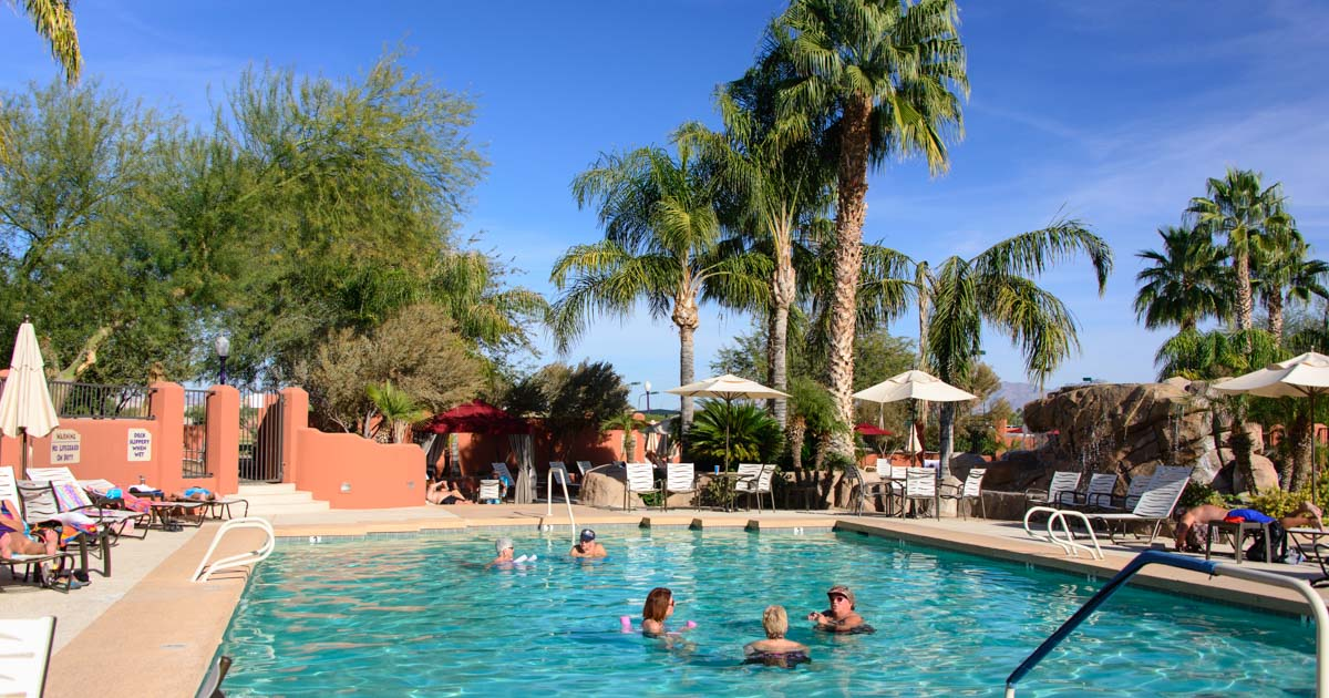 Monte Vista Rv Resort In Az Arts Crafts And Sports Fun