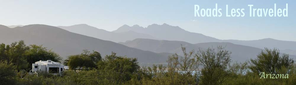 Arizona Four Peaks RV camping