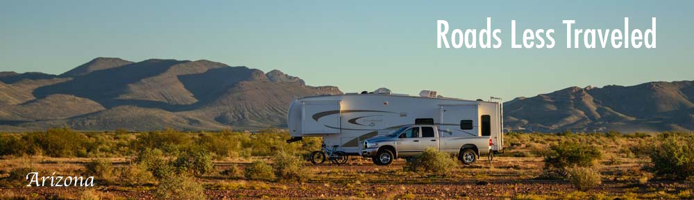 Arizona RV travel Southeastern AZ Mt. Graham Safford