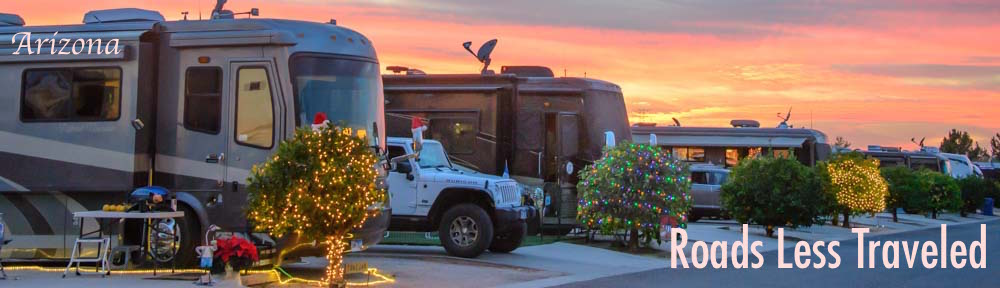 RLT Cover Arizona ViewPoint RV & Golf Resort Christmas Sunset