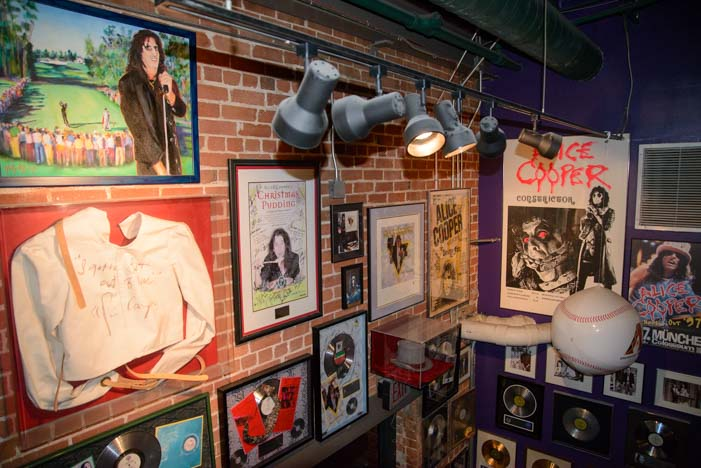 Cooperstown Alice Cooper Restaurant Phoenix Arizona