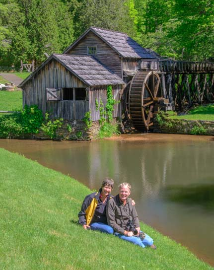 Mabry Mill Virginia RV travel adventure