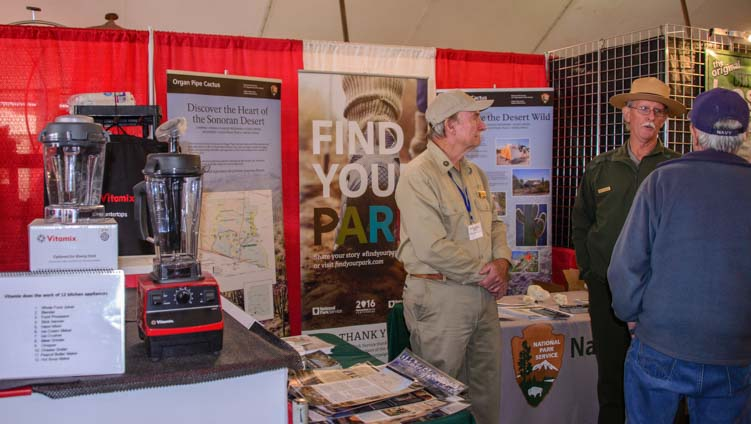 Vitamix and National Park Service RV Show Quartzsite Arizona
