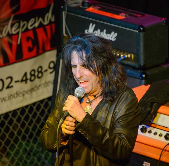 Alice Cooper Solid Rock benefit concert Cooperstown Phoenix Arizona