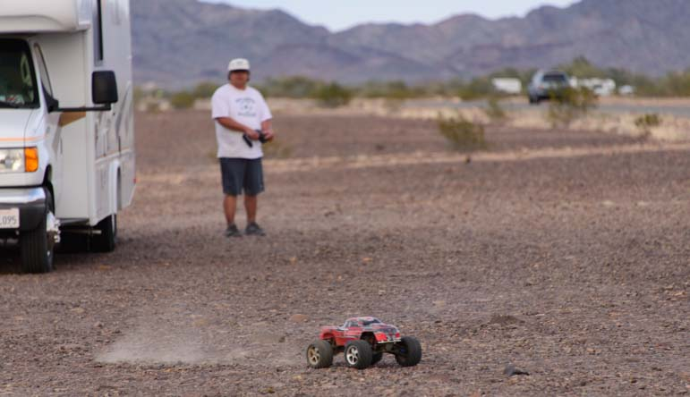 Remote controller dune buggy and RV
