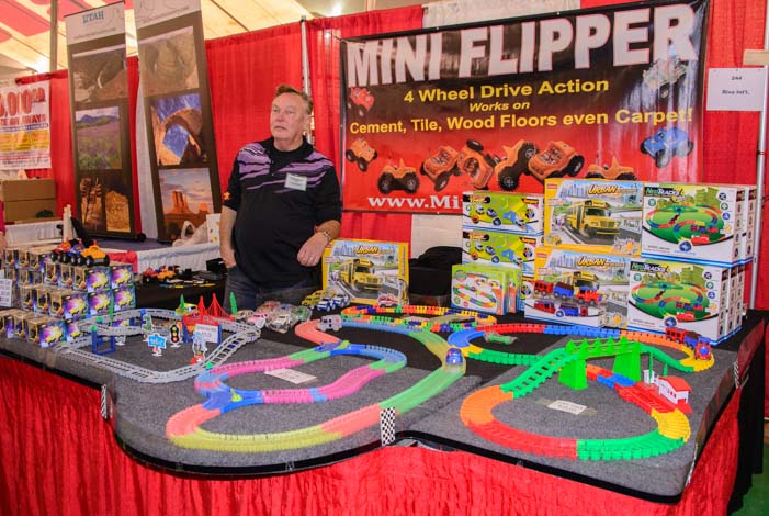 Mini-Flipper Toy Quartzsite Arizona RV Show