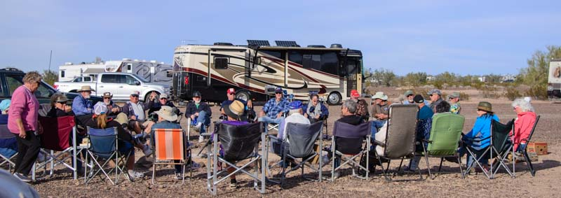 RV Rally Quartzsite Arizona