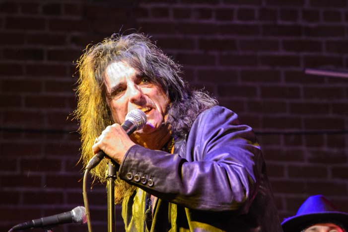 Alice Cooper in concert Solid Rock Foundation Benefit