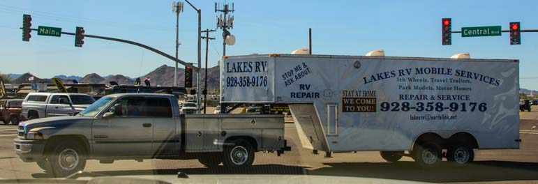 RV Mobile Repair Service Quartzsite Arizona