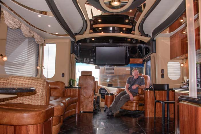 Prevost RV Interior