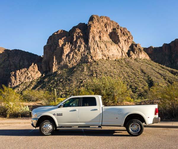 2016 Ram 3500 dually pickup truck