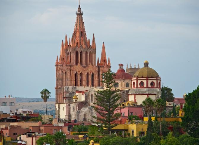 Cathedral San Miguel de Allende Mexico