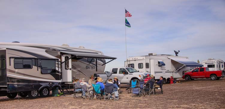 Quartzsite Arizona Gathering Place for RV travelers
