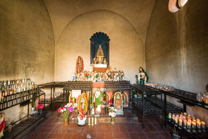 Shrine Chapel San Xavier Mission Tucson AZ