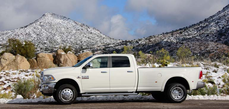 Dodge Ram 3500 diesel dually truck