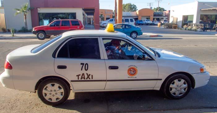Taxi cab San Luis Mexico
