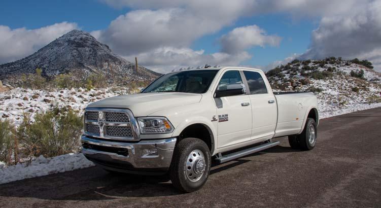Ram 3500 dually pickup diesel